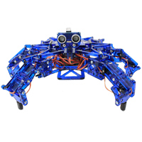 Arcbotics HEXY the Hexapod Robot Kit V1 Blue