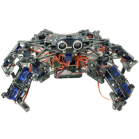 Arcbotics HEXY the Hexapod Robot Kit V1 Grey