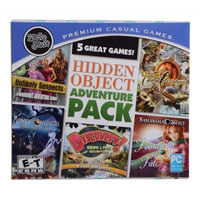 Encore Software Hidden Object Adventure 5 Pack Jewel Case