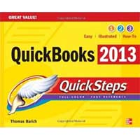 McGraw-Hill QUICKBOOKS 2013 QUICKSTEP