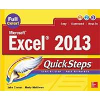 McGraw-Hill EXCEL 2013 QUICKSTEPS