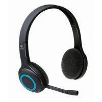 Logitech 981-000341 H600 2.4GHz Wireless Headset - Refurbished