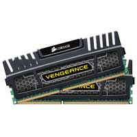 Corsair Vengeance Series 16GB DDR3-1866 (PC3-15000) CL10 Dual Channel Desktop Memory Kit (Two 8GB Memory Modules)