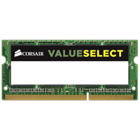 Corsair 16GB DDR3-1600 (PC3-12800) CL11 SO-DIMM Laptop Memory Kit (Two 8GB Memory Modules)