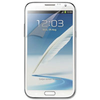Qmadix 3-Pack Clear Screen Protectors Samsung Galaxy Note II