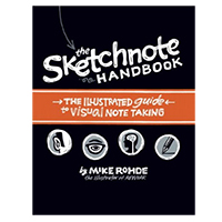 Pearson/Macmillan Books The Sketchnote Handbook: the illustrated guide to visual note taking