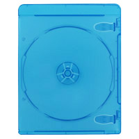 Inland 7mm Blu-ray Case Blue 10 Pack