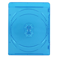 Inland 7mm Double Blu-ray Case Blue 10 Pack