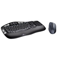 Logitech MK560 Wireless Wave Plus Keyboard & Mouse Combo - Refurbished