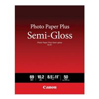 "Canon Photo Paper Plus Semi-Gloss (8.5"" x 11"") - 50 Sheets"