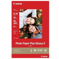 "Canon Photo Paper Plus Glossy II (13"" x 19"") - 20 Sheets"