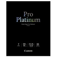"Canon Photo Paper Pro Platinum 8"" x 10"" - 20 Sheets"