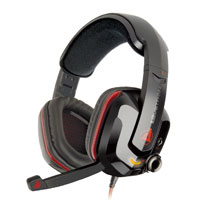 Azio GH808 Levetron USB Over Ear Gaming Headest