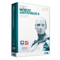 ESET NOD32 Antivirus 6.0 1-User, 1-Year (PC)