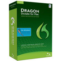 Nuance Dragon Dictate for Mac v3 Wireless