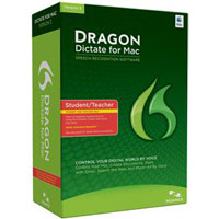 Nuance Dragon Dictate for Mac v3 Student/Teacher