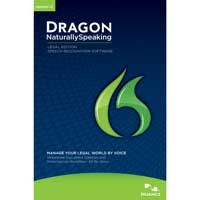 Nuance Dragon NaturallySpeaking Legal v12
