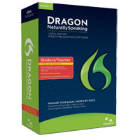 Nuance Dragon NaturallySpeaking Legal Student v12