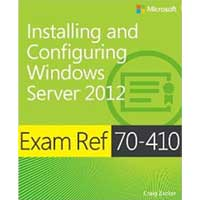 Microsoft Press EXAM REF 70-410 INSTALLIN