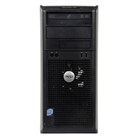 Dell 755 Desktop Computer Off Lease Refurbished