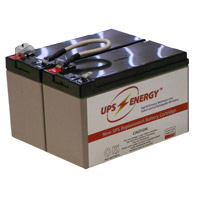 UPS Energy 2 Replacement UPS Battery Cartridges 12V/7.0A With Jumper
