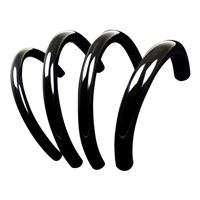 "PrimoChill 10' PrimoFlex Advanced LRT 1/2"" x 3/4"" Tubing - Onyx Black"