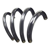 "PrimoChill 10' PrimoFlex Advanced LRT 3/8"" ID x 5/8"" OD Tubing - Crystal Clear"
