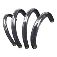 "PrimoChill 10' PrimoFlex Advanced LRT 3/8"" x 1/2"" Tubing - Crystal Clear"