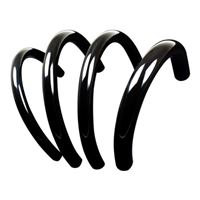 "PrimoChill PrimoFlex 3/8"" (10 mm) x 1/2"" (13 mm) Advanced LRT Tubing 10 ft. - Onyx Black"