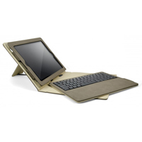 Cygnett Lavish Bluetooth Keyboard Sandstone Case for iPad 2/iPad 3