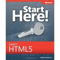 Microsoft Press START HERE LEARN HTML5