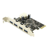 Sabrent 4-Port SuperSpeed USB 3.0 PCIe Controller Card