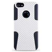 iEssentials Mesh Case for iPhone 5 White/Black