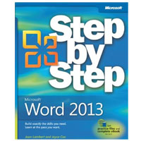 Microsoft Press WORD 2013 STEP BY STEP