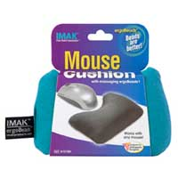 IMAK Products Ergobead Mouse Wrist Rest - Teal