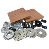 AndyMark Assorted Sprocket Kit #35 Series Aluminum Sprockets