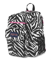 Jansport Digital Student - Fluorescent Pink Miss Zebra