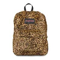 Jansport High Stakes Standard Backpack - Caramel Leopard