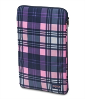 "Jansport 15"" Laptop Sleeve - Pink Pansy Preston Plaid"