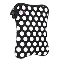 "Built NY Tablet Sleeve for LCD Screens up to 10"" Black/White Dot"