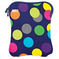 "Built NY Tablet Sleeve Fits LCD Screens up to 10"" Scatter Dot"