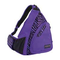 Jansport Air Cisco Backpack Black/Prism Purple Flashback Zebra