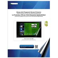 Green Onions Supply Glossy Anti-Fingerprint Screen Protector for Iconia Tab A500
