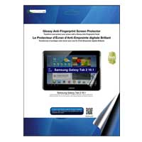 Green Onions Supply Glossy Anti-Fingerprint Screen Protector for Galaxy Tablet 2 10.1""