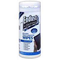 Endust Anti-Static Tablet Wipes - 70 Count