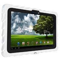 Hard Candy Drop Tech Series Case for Asus Eee Pad Transformer TF101 White/Black