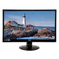 Photo - AOC E2252SWDN 22 1080p LED Monitor