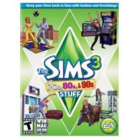 Electronic Arts Sims 3 70's, 80's and 90's Stuff