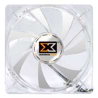 Xigmatek CSF-SXGJS-BU2 120mm LED Crystal Blue Case Fan 2-Pack