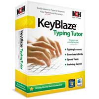 NCH Software KeyBlaze Typing Tutor Software (PC/MAC)